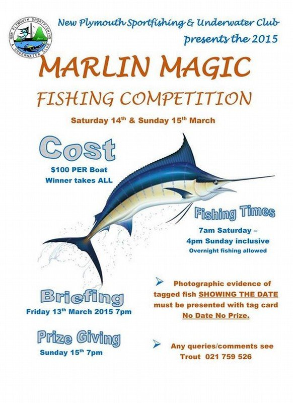 Marlin Magic 2015 By New Plymouth Sportfishing And